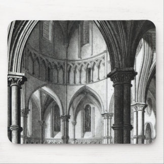 Interior of the Temple Church Mouse Pad