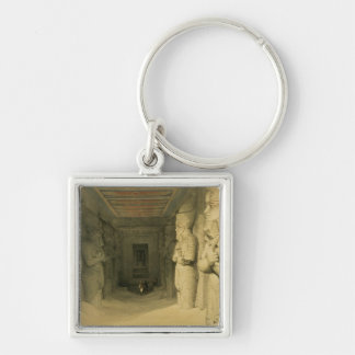 """Interior of the Temple of Abu Simbel, from """"Egypt Key Chains"""