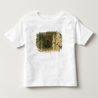 """Interior of the Temple of Abu Simbel, from """"Egypt Toddler T-shirt"""