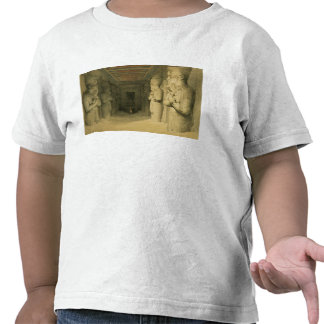"""Interior of the Temple of Abu Simbel, from """"Egypt T Shirts"""
