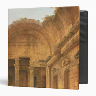 Interior of the Temple of Diana at Nimes, 1787 3 Ring Binder