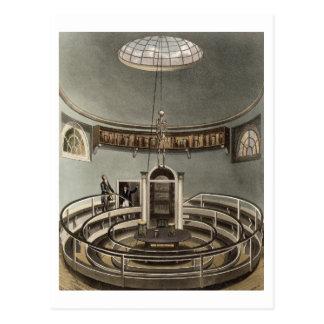 Interior of the Theatre of Anatomy, Cambridge, fro Postcard