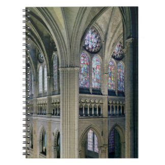Interior of the transept crossing, consecrated 121 spiral notebooks