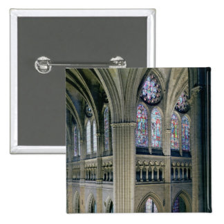 Interior of the transept crossing, consecrated 121 pinback button