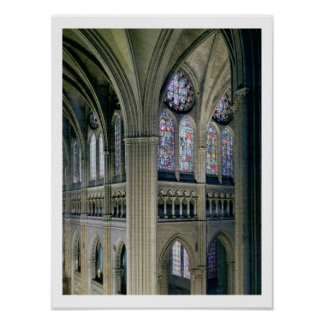 Interior of the transept crossing, consecrated 121 poster