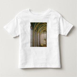 Interior of the upper chapel looking east, begun 1 toddler t-shirt