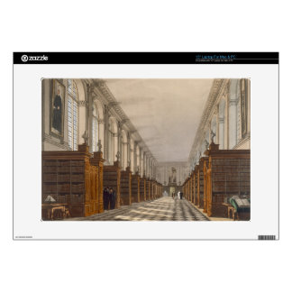 "Interior of Trinity College Library, Cambridge, fr Decals For 15"" Laptops"