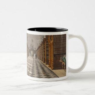 Interior of Trinity College Library, Cambridge, fr Two-Tone Coffee Mug