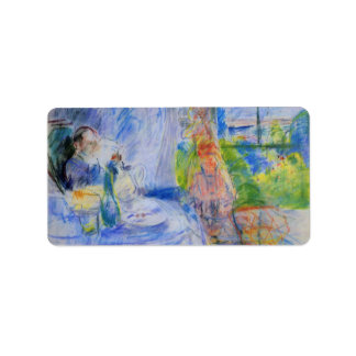 Interior on Jersey by Berthe Morisot Personalized Address Labels