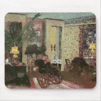 Interior or, The Salon with Three Lamps, 1899 Mouse Pad
