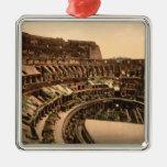 Interior ornamento del Colosseum, Roma, Italia Ornamentos De Reyes