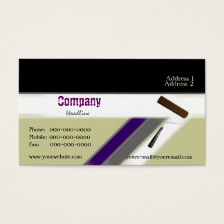 Interior Painting Business Card