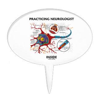 Interior practicante del neurólogo (sinapsis de la figuras para tartas