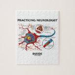 Interior practicante del neurólogo (sinapsis de la rompecabezas