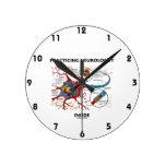 Interior practicante del neurólogo (sinapsis de la reloj