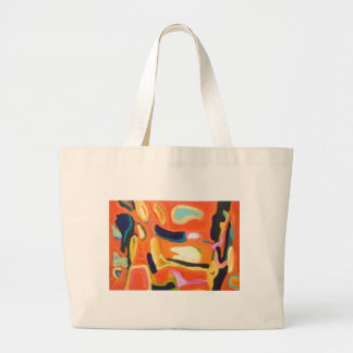 Interior rojo (expresionismo abstracto) bolsas