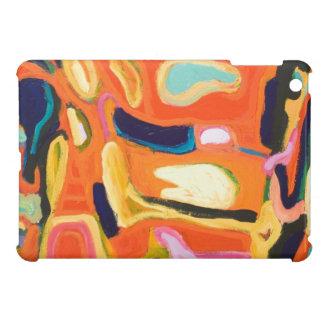 Interior rojo (expresionismo abstracto) iPad mini carcasa