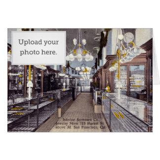 Interior Sorensen Co. Jewelry Store Greeting Cards