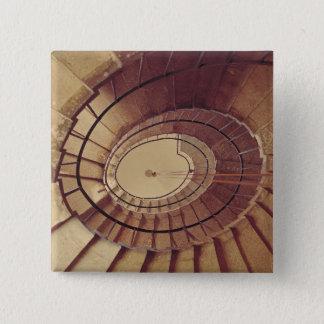 Interior staircase, 1560-61 pinback button
