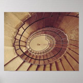 Interior staircase, 1560-61 poster
