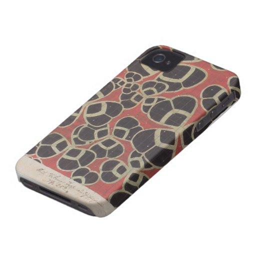Interior Texiles de Koloman Moser- Backhausen iPhone 4 Case-Mate Cobertura