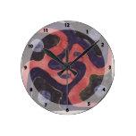 Interior Texiles de Koloman Moser- Backhausen Relojes