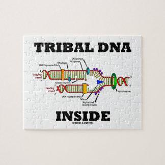 Interior tribal de la DNA (réplica de la DNA) Rompecabezas