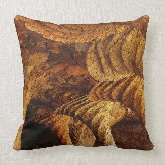 Interior vault (stone) throw pillows