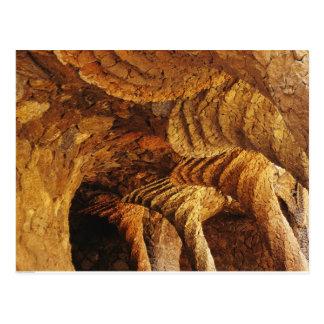 Interior vault (stone) post card