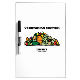 Interior vegetariano de la materia (pila de pizarras blancas