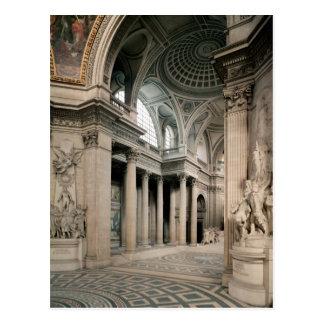 Interior view, 1764-1812 postcard