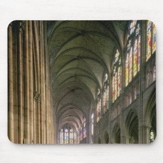 Interior view looking down the nave mouse pad