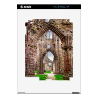 Interior View of Ancient Tintern Abbey Wales, UK Decal For iPad 2