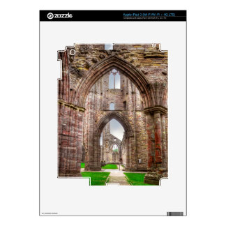 Interior View of Ancient Tintern Abbey Wales, UK Skins For iPad 3