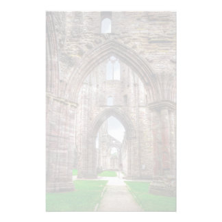 Interior View of Ancient Tintern Abbey Wales, UK Stationery