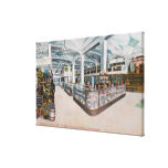 Interior View of Augustine & Kyer Bakery Canvas Print
