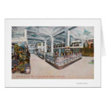 Interior View of Augustine & Kyer Bakery Greeting Card
