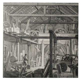 Interior View of John Bunyan's Meeting House in Zo Ceramic Tile