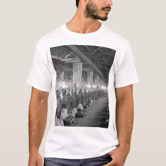 Interior view of projectile shop #1_War image T-Shirt