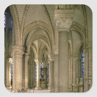 Interior view of the ambulatory (photo) square sticker
