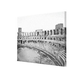 Interior view of the amphitheatre 2 gallery wrapped canvas