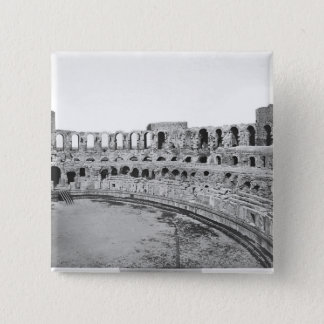 Interior view of the amphitheatre pinback button