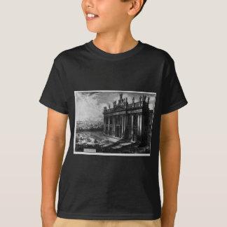 Interior view of the Basilica of St. John Lateran T-Shirt