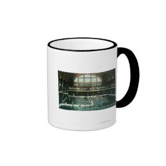 Interior View of the Bathing Pavilion Coffee Mug
