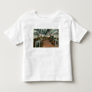 Interior View of the Cave Grill Toddler T-shirt