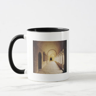 Interior view of the cloister, founded in 1148 mug
