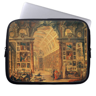 Interior View of The Colonna Gallery, Rome (oil on Laptop Sleeve
