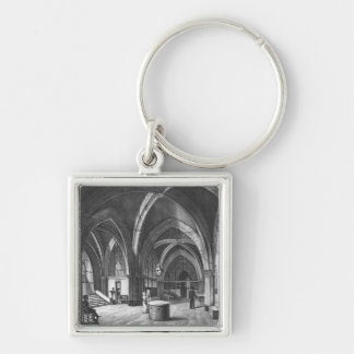 Interior view of the entrance room keychain