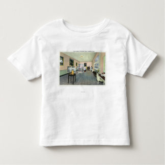 Interior View of the FDR Library, Exhibition Toddler T-shirt