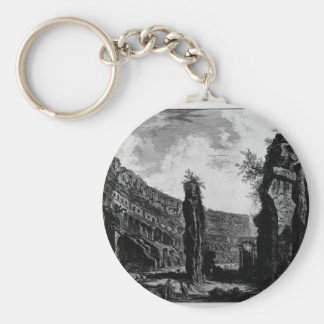Interior View of the Flavian Amphitheatre Keychain